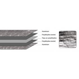 Rouleau Mylar Anti-détection(1.25mtr x 60mtr)