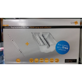 Promo pack Gavita lamp 750W + Reflector HR96