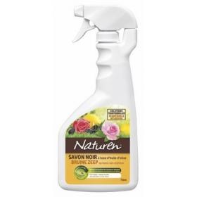 SAVON NOIR NATUREN 750 ml avec pulvérisateur