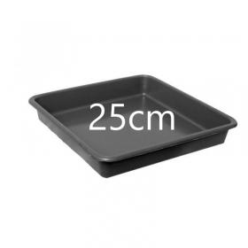 Soucoupe Carrée 25cm (Pour pots 11, 14, 18ltr)