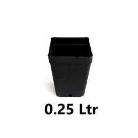 Pot Carré 7x7x8cm (0,25ltr)