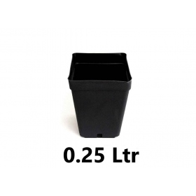 Square Pot 7x7x8cm (0,25ltr)