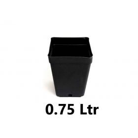 Square Pot 10x10x11cm (0,75ltr)
