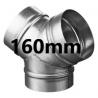 Connecteur Y 160 mm