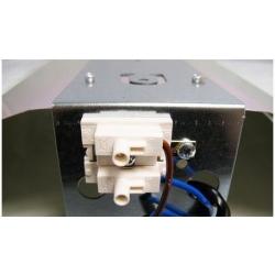 Réflecteur Martelé 47cm (Aluminium Reflex)