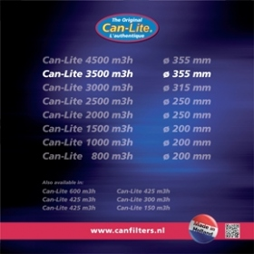 Can-Lite 3500 (3500-3850m³/h) Ø 355mm