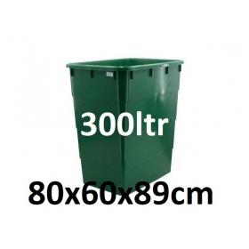 Réservoir avec Couvercle 300ltr (80x60x89cm)