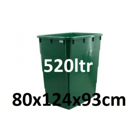 Réservoir avec Couvercle 520ltr (80x124x93cm)