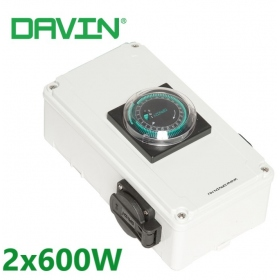 DAVIN Time Controller DV-12 2x600w