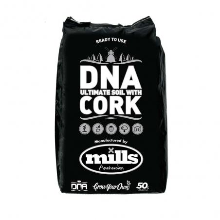 Mills/DNA Soil&Cork 50ltr Mélange Terreau + Liège