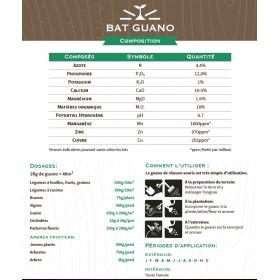 Guano de Chauve-souris Habo 1kg