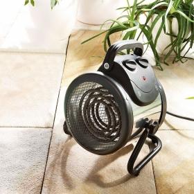 """Chauffage électrique pour serre """"Palma"""" 2KW  Basic (Thermostat Numérique)"""