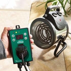 """Chauffage électrique pour serre """"Palma"""" avec Thermostat numérique"""