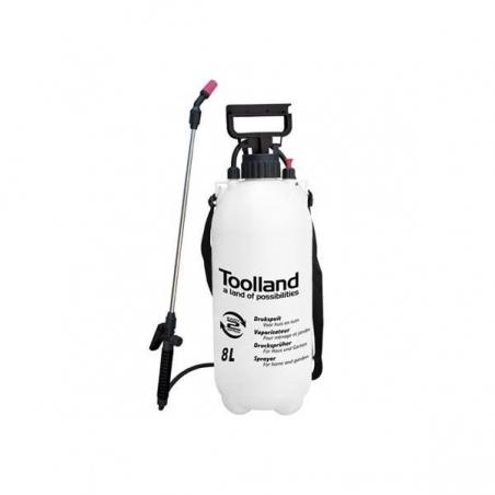 Toolland pressure sprayer 8 ltr