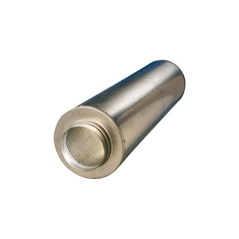 Silencieux 125mm/ 600 mm vents