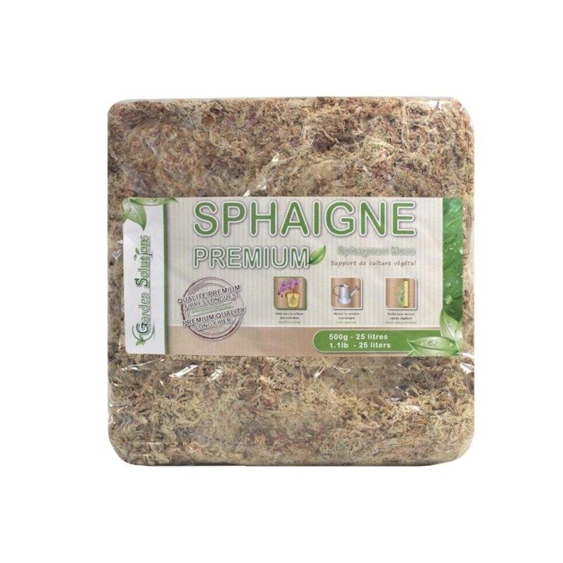 Sphaigne du Chili 500 gr Qualité Premium (Garden Solution)