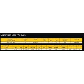 Mammoth Elite 600L HC  (18m²)
