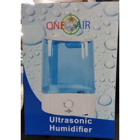 Humidificateur Ultrasonic 6ltr 250 ml/H