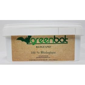 Guano de chauve-souris 3 kg  Greenbat Pellets ( Granulés) en pot