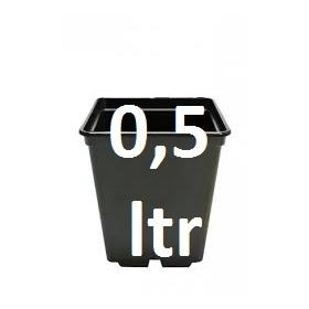 Pot Carré 9x9x10cm (05.ltr)