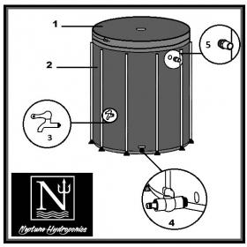 Réservoir Souple 500ltr Neptune