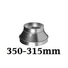 Reducer 355mm-315mm