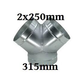Connecteur Y  315-250-250 mm