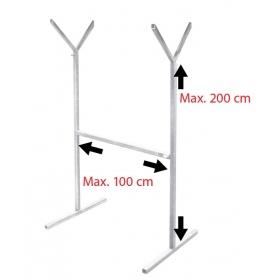 Support pour Filtre (Hauteur 100 à 200cm )