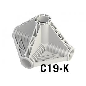 Corner K 4 Axes ø 19mm