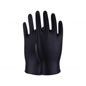 Gants de Protection en Nitrile Noir (x50pcs) M