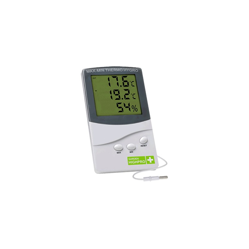 Thermomètre / Hygromètre Max/Min Garden Hghpro