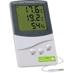 Thermometer/Hygrometer Min-Max Garden Highpro