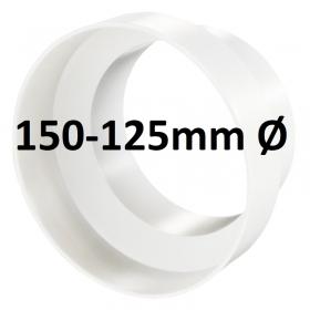 Reducteur Plastique PVC 150-125 mm