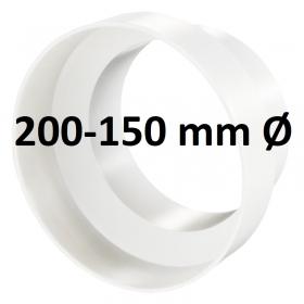 Reducteur Plastique PVC 200-150 mm