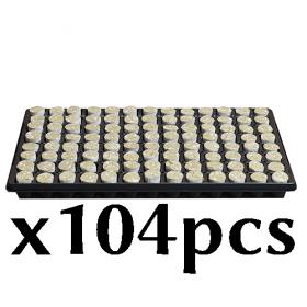 Rockwool Plug Round 104x
