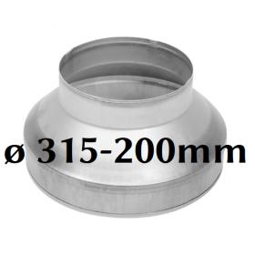 Reducer 315/200mm
