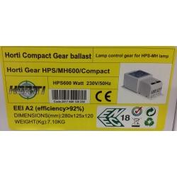 Horti Gear Compact 600 W