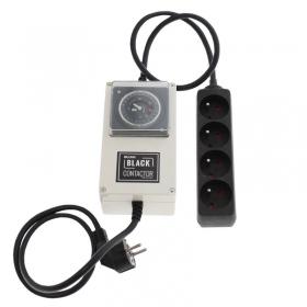 Minuteur lumii black contactor 4 x 400 ou 600W