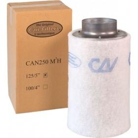 Filtre à charbon Can-Filters 250m³/h (125 Ø)