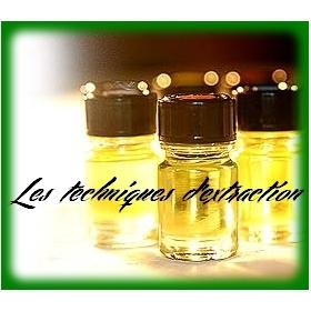 Extraction des huiles essentielles